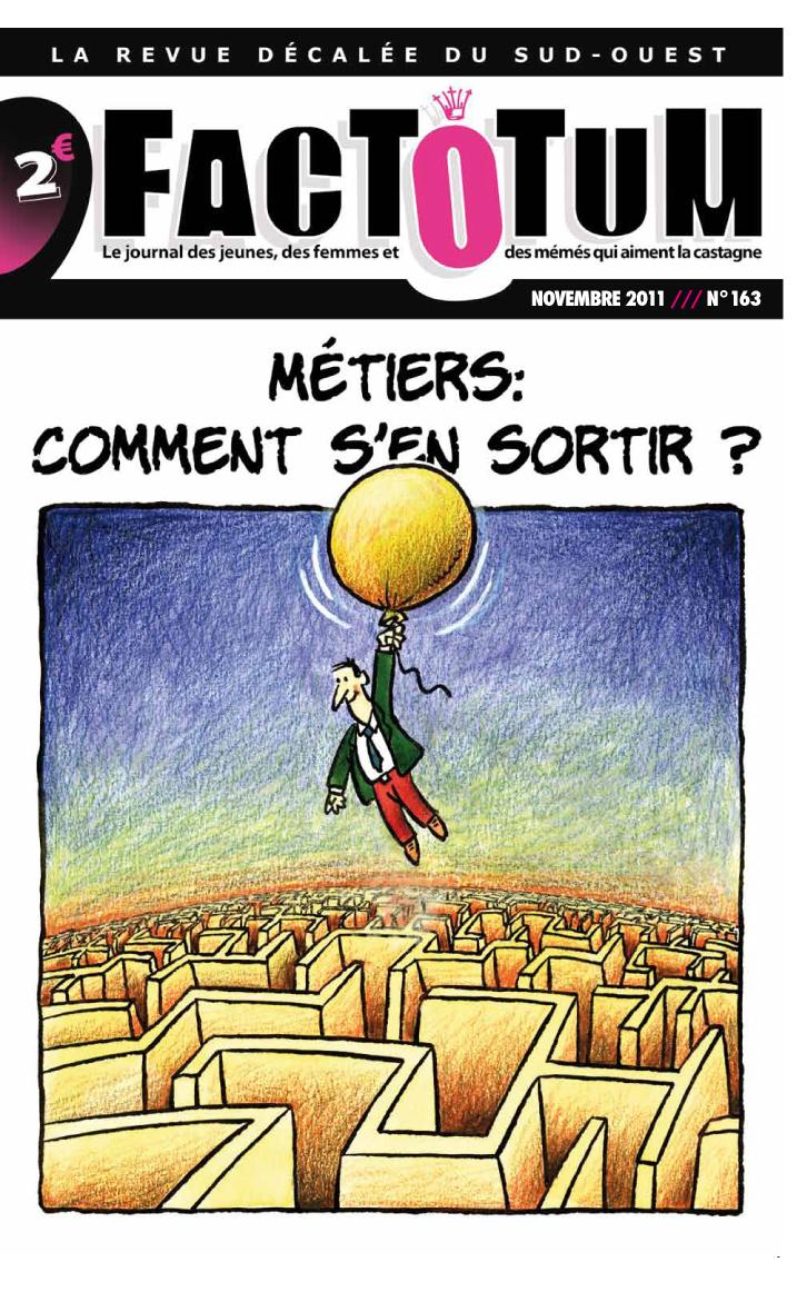 NOVEMBRE 2011 – Dossier Métiers