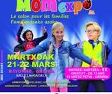 MÔM'EXPO, C'EST TRES BIENTÔT…LES 20 ET 21 MARS SALLE LAUGA A BAYONNE
