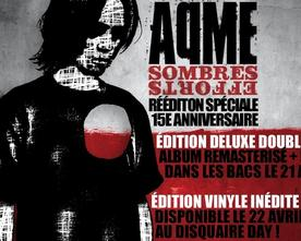 AQME - Sombres efforts (réédition spécial 15 ans)