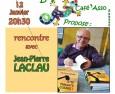 Rencontre avec Jean-Pierre Laclau et de son livre «C'te Maudite Guerre!»