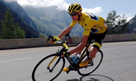 Que traduit le «geste» sur Froome dans la montée de l'Alpe d'Huez?
