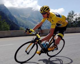 """Que traduit le """"geste"""" sur Froome dans la montée de l'Alpe d'Huez?"""