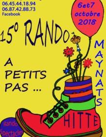 Les Maynats vont pour la 15ème année user leurs souliers !